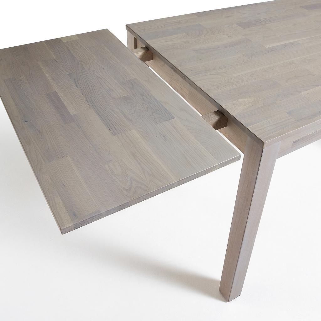 Uitschuifbare Eettafel White Wash.Eettafel Indra Verlengbaar 120 Tot 200 Cm Eikenhout